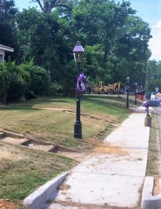 New Gas Lights going in on North Main Street.